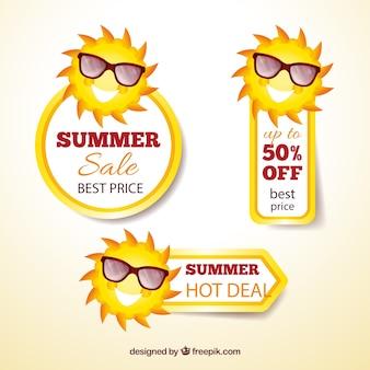 Banners venda do verão