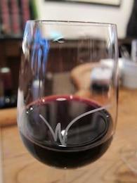barra de vinho tinto