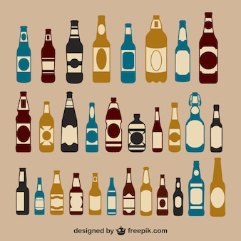 Garrafas de cerveja embalar