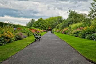 Belfast jardins botânicos hdr