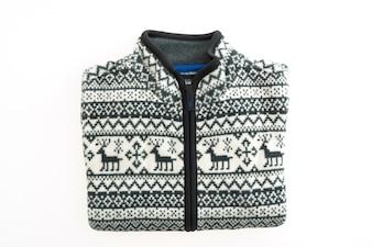 Belo casaco ou jaqueta de moda
