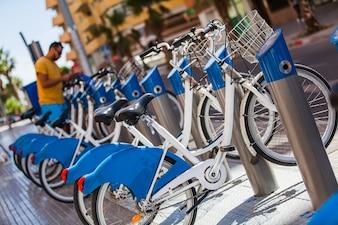 Bicicletas para alugar