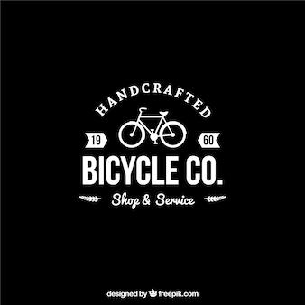 Crachá de bicicleta no estilo retro