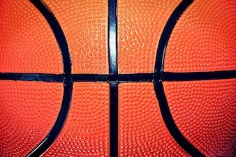 Bola de basquete.