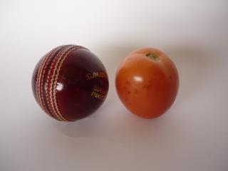 bola e tomate