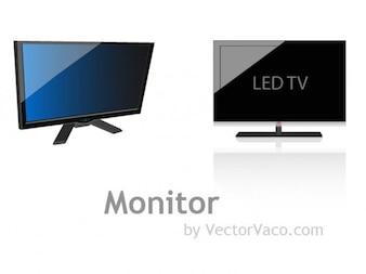 Brilhante monitor LED