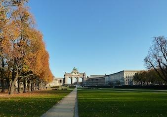 Bruxelas nuvens cênico bélgica céu outono