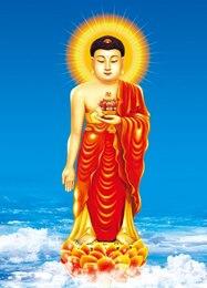 Buda Amitabha psd material em camadas