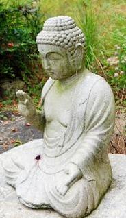 buddha estátua rezar