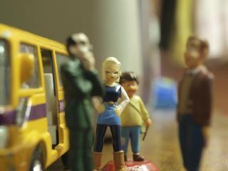 Bus stop brinquedos, brinquedos