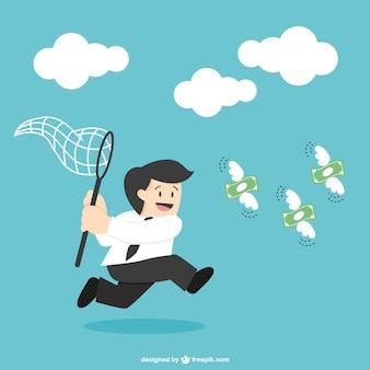 Caça empresário por dinheiro