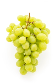 Cacho de uvas delicioso