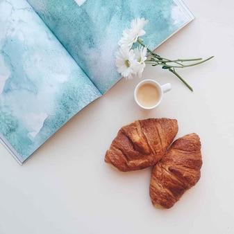 Café da manhã Top View