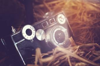 Câmera de filme clássica - estilos de efeito de filtro retro e retro