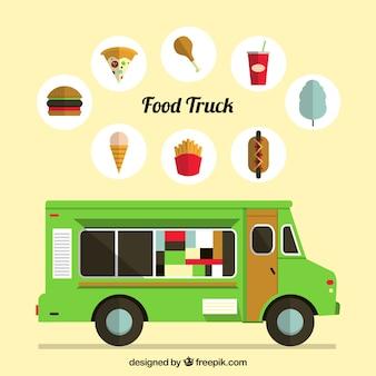 Caminhão de comida