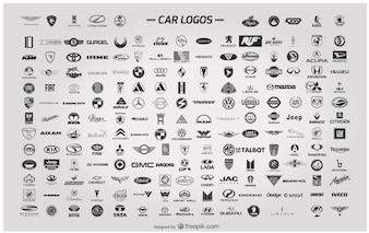 Logos carro vetor