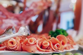 Carne de flores