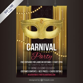 Poster festa de Carnaval
