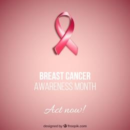Cartão de câncer de mama