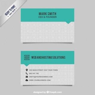 Cartão de Web e soluções de hospedagem