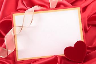 Cartão do Valentim com caixa da fita e de presente