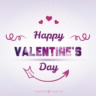 Cartão do Valentim com seta