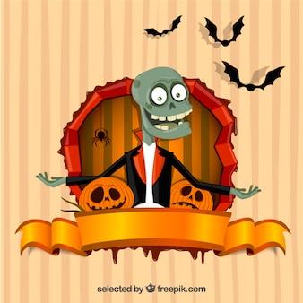 Cartão engraçado do dia das bruxas