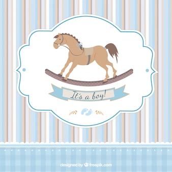 Cartão para o chá de bebê