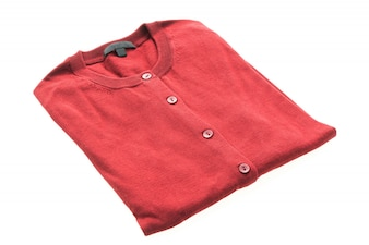 Casaco de lã para roupa