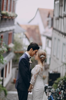 Casal de casamento
