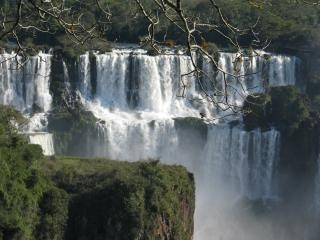 Cataratas do Iguaçu, verde