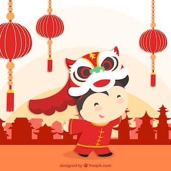 Comemorando o ano novo chinês