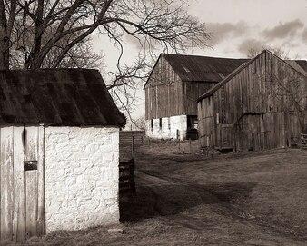 Celeiro histórico Maryland Antietam