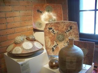 Cerâmica artística e histórica, prato
