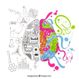 Cérebro analítico e criativo
