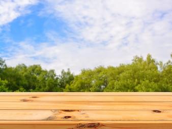 Céu do produto papel de parede template tabletop