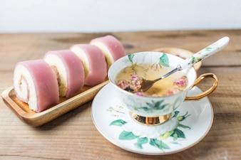 Chá da tarde café da manhã