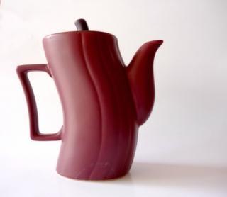Chaleira marrom, caneca