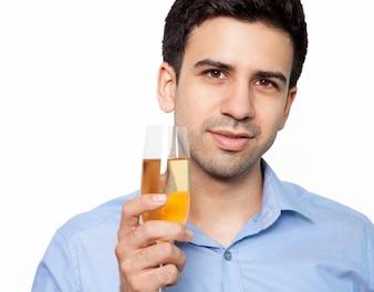 Champanhe cheers vinho celebração do partido