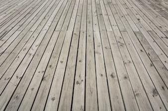Chão de madeira