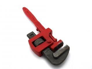 chave para tubos, utensílio