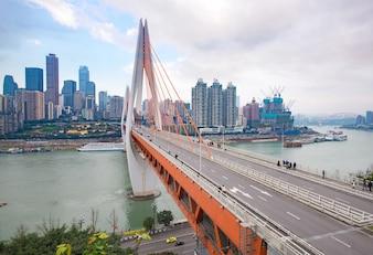 China Travel porto panorama de água