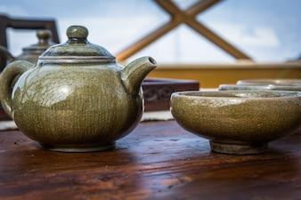 Chinês tradicional conjunto de chá