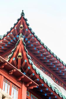 Closeup aparência clássica estrutura animal chinês