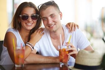 cocktails casal beber