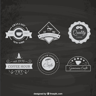 Coffee pacote logotipo da casa