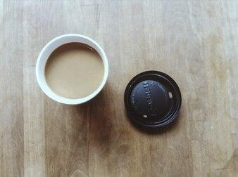 Café Top View