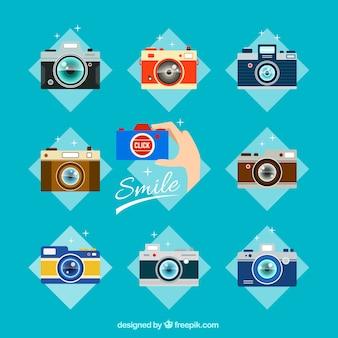 Coleção câmeras analógicas