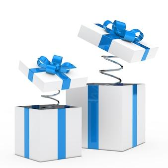 Coleção das caixas de presente