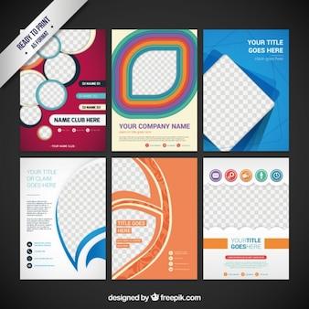 Coleção de flyers